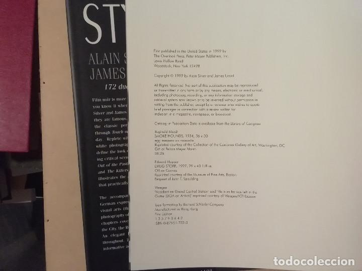 Libros de segunda mano: CINE NEGRO -( THE NOIR STYLE )- SILVER URSINI - 1ª ED. 1999 - OVERLOOK -(M7) - Foto 4 - 218753628