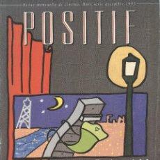 Libros de segunda mano: POSITIF NUMERO SPECIAL: CINEMA ET MOBILIER. Lote 218905673