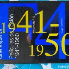 Libros de segunda mano: CATÁLOGO DEL CINE ESPAÑOL. FILMS DE FICCIÓN 1941-1950. Lote 219055753