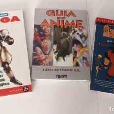 Libros de segunda mano: COLECCIÓN DE LIBROS DE MANGA Y ANIME DESCATALOGADOS. Lote 219669143