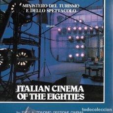 Libros de segunda mano: ITALIAN CINEMA OF THE EIGHTIES. EN INGLÉS. Lote 220484840