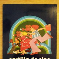 Libros de segunda mano: CARTILLA DE CINE. INICIACIÓN AL CINE PARA LOS NIÑOS. VV.AA. 1976.. Lote 220643391