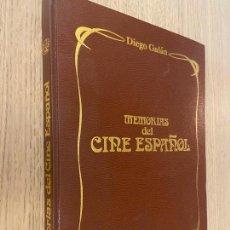 Libros de segunda mano: MEMORIAS DEL CINE ESPAÑOL - DIEGO GALAN. Lote 220757167
