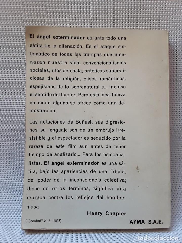 Libros de segunda mano: Luis Buñuel - El ángel exterminador (Ayma, 1964) Guion - Foto 2 - 254442325