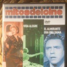 Libros de segunda mano: PÓRTATE BIEN/VIDA ALEGRE/EL ALMIRANTE ERA UNA BANDA DVD MITOS DEL CINE EX. PRECINTADO.. Lote 221846488