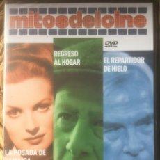 Libros de segunda mano: LA POSADA DE JAMAICA/REGRESO AL HOGAR/EL REPARTIDOR DE HIELO DVD MITOS DEL CINE EX. PRECINTADO.. Lote 221847876