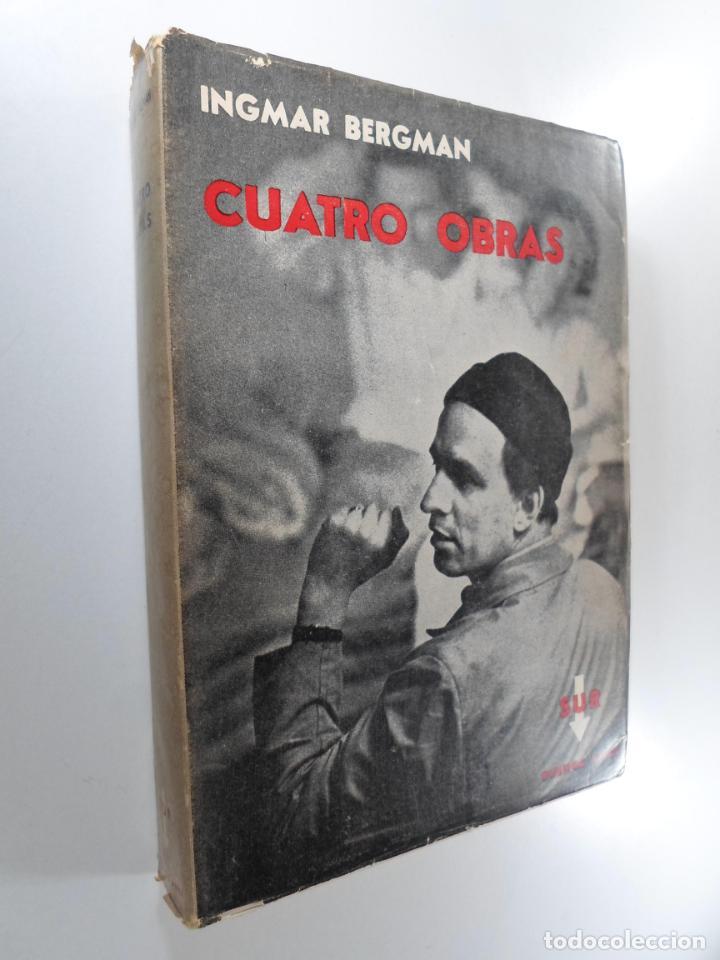 INGMAR BERGMAN CUATRO OBRAS (Libros de Segunda Mano - Bellas artes, ocio y coleccionismo - Cine)