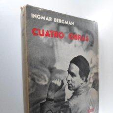 Libros de segunda mano: INGMAR BERGMAN CUATRO OBRAS. Lote 224355000