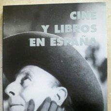 Libros de segunda mano: CINE Y LIBROS EN ESPAÑA CINE ESPAÑOL PARA EL EXTERIOR. Lote 145679662