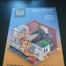 Libros de segunda mano: CATÁLOGO KORT FILM FESTIVAL 2019 EN LOVAINA. EN INGLÉS Y FLAMENCO/NEERLANDÉS. Lote 226421154