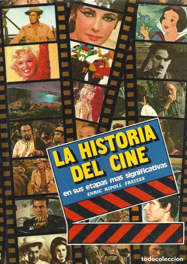 LA HISTORIA DEL CINE DE ENRIC RIPOLL FREIXES, ED. CAIXA DE TERRASSA (Libros de Segunda Mano - Bellas artes, ocio y coleccionismo - Cine)