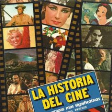 Libros de segunda mano: LA HISTORIA DEL CINE DE ENRIC RIPOLL FREIXES, ED. CAIXA DE TERRASSA. Lote 227893335