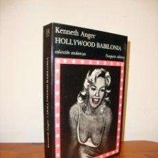 Libros de segunda mano: HOLLYWOOD BABILONIA - KENNETH ANGER - TUSQUETS ANDANZAS, MUY BUEN ESTADO. Lote 228587510