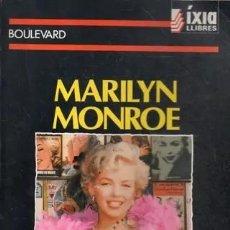 Libros de segunda mano: MARILYN MONROE FREDERIC CABANAS MEMORABILIA, LIBROS, NOVELAS Y REVISTAS DEDICADAS A LA ACTRIZ. Lote 229699545