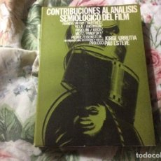 Livros em segunda mão: CONTRIBUCIONES AL ANALISIS SEMIOLOGICO DEL FILM IVANOV MITRY. Lote 229914740