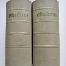 Libros de segunda mano: LOTE DE 20 NÚMEROS DE CINÉMA 62. AÑOS 1961-1962. ENCUADERNADOS. REVISTA FRANCESA SOBRE CINE.. Lote 230681980