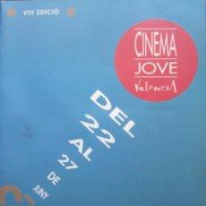Libros de segunda mano: VIII EDICIÓN CINEMA JOVE DE VALENCIA. Lote 231083520