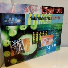 Libros de segunda mano: MOTIONGRAPHICS, FILM+TV, V.V.A.A., CINE / CINEMA, DIMENSIONAL ILLUSTRATORS, 2002. Lote 232451200
