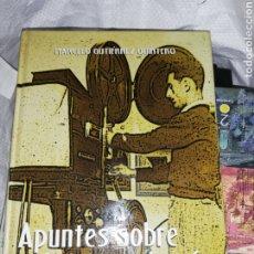Libros de segunda mano: LIBRO APUNTES DEL CINEMATÓGRAFO EN EL HIERRO.. POR MARCELO. GUTIÉRREZ QUINTERO. Lote 233558105
