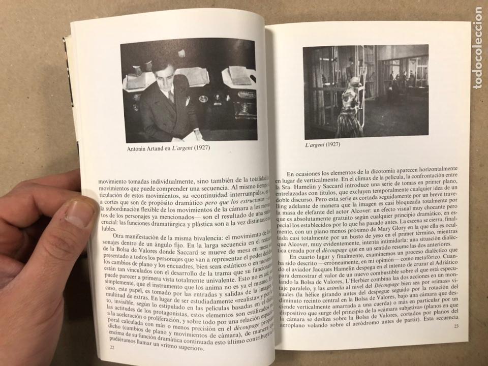 Libros de segunda mano: ITINERARIOS, LA EDUCACIÓN DE UN SOÑADOR DEL CINE. NOËL BURCH. - Foto 4 - 234931100