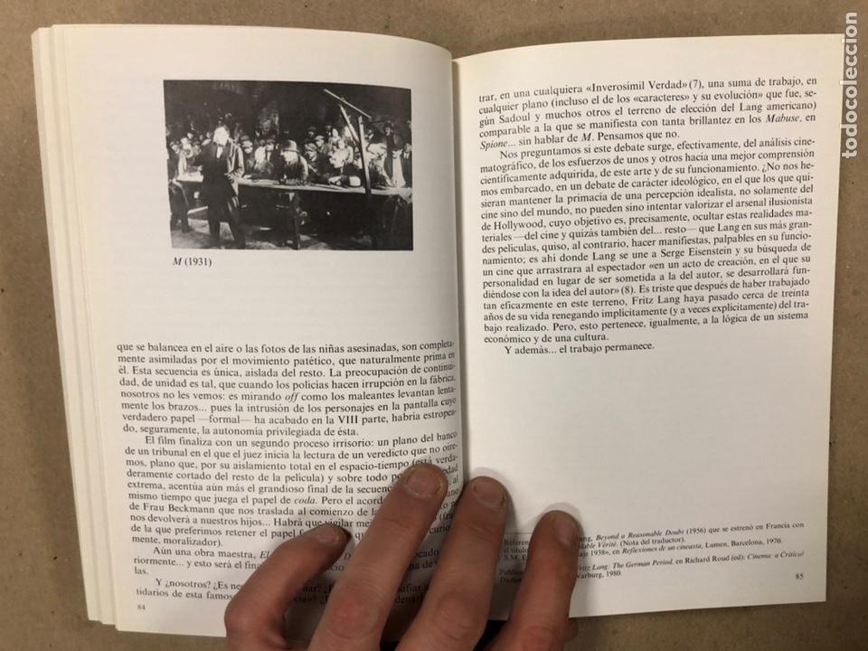 Libros de segunda mano: ITINERARIOS, LA EDUCACIÓN DE UN SOÑADOR DEL CINE. NOËL BURCH. - Foto 6 - 234931100