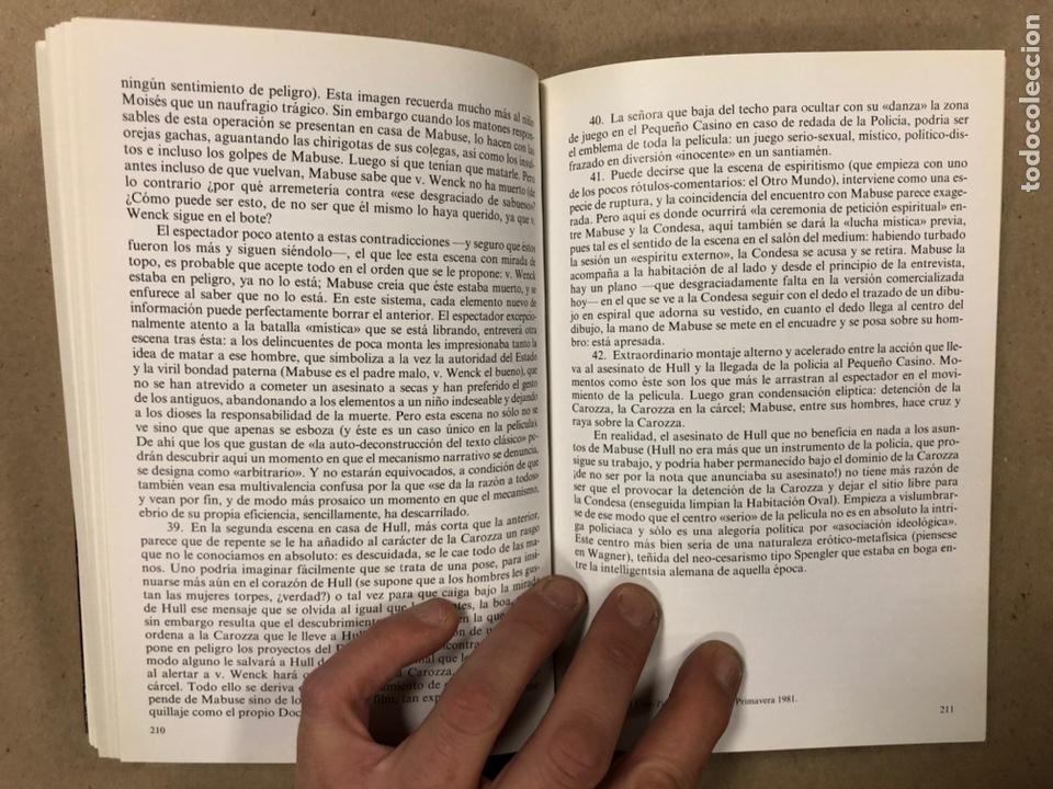 Libros de segunda mano: ITINERARIOS, LA EDUCACIÓN DE UN SOÑADOR DEL CINE. NOËL BURCH. - Foto 11 - 234931100