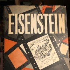 Libros de segunda mano: LIBRO DE CINE EN INGLÉS EINSENSTEIN, NOTES OF A FILM DIRECTOR. LAWRENCE & WISHART, LONDON. 1959. Lote 235465960