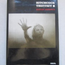 Livres d'occasion: HITCHCOCK-TRUFFAUT-AKAL 1991. Lote 236000965