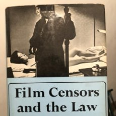 Libros de segunda mano: LIBRO CINE EN INGLÉS FILM CENSORS AND THE LAW. NEVILLE MARCH HUNNINGS, 1967. Lote 236377015