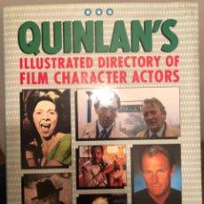 Libros de segunda mano: LIBRO DE CINE EN INGLÉS QUINLAN'S ILLUSTRATED DIRECTORY OF FILM CHARACTER ACTORS. DAVID QUINLAN 1995. Lote 236427710