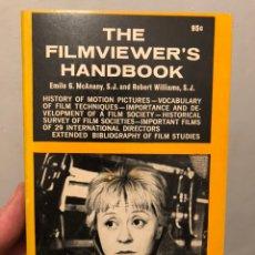 Libros de segunda mano: LIBRO DE CINE EN INGLÉS THE FILMVIEWER'S HANDBOOK, EMILE G. MCANAY AND ROBERT WILIAMS, 1965. Lote 236449785