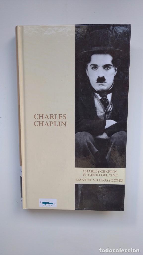 CHARLES CHAPLIN, EL GENIO DEL CINE - MANUEL VILLEGAS LÓPEZ - EDICIONES FOLIO, 2003 (Libros de Segunda Mano - Bellas artes, ocio y coleccionismo - Cine)