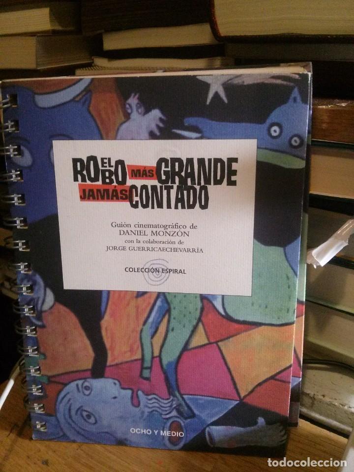 EL ROBO MAS GRANDE JAMAS CONTADO, COLECCION ESPIRAL, ED. OCHO Y MEDIO (Libros de Segunda Mano - Bellas artes, ocio y coleccionismo - Cine)