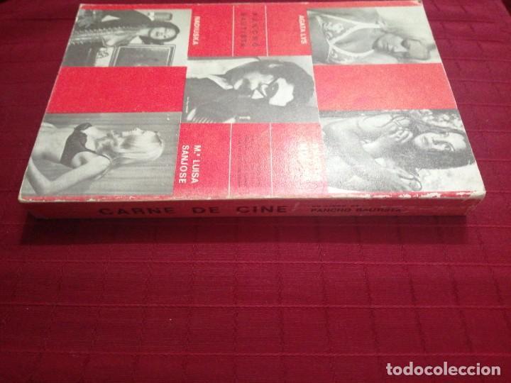Libros de segunda mano: CARNE DE CINE - Pancho Bautista - Foto 3 - 237205335