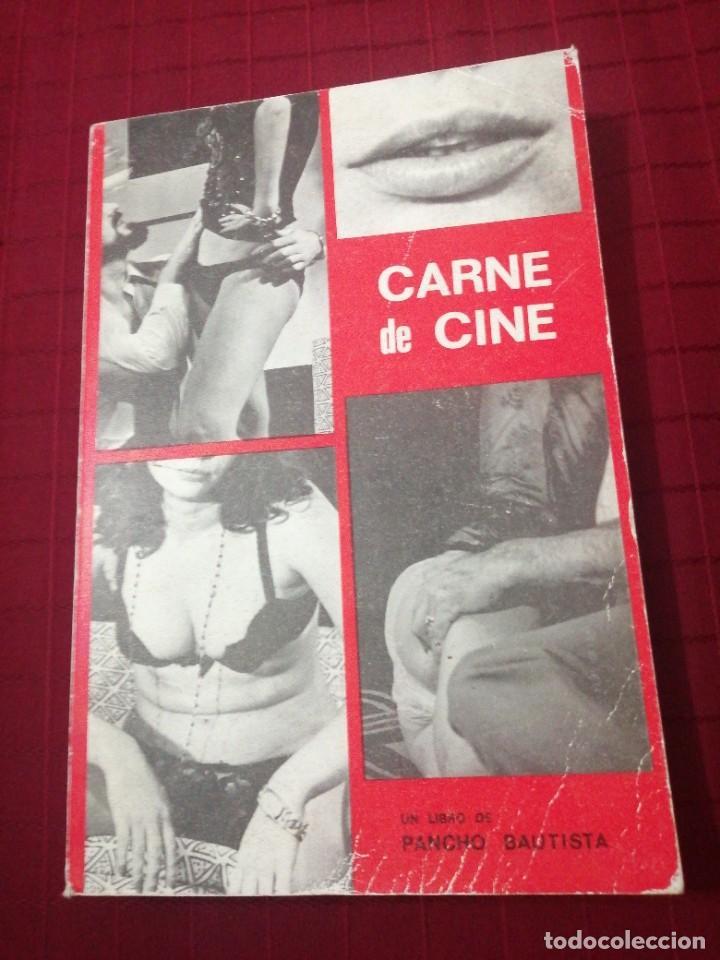 CARNE DE CINE - PANCHO BAUTISTA (Libros de Segunda Mano - Bellas artes, ocio y coleccionismo - Cine)