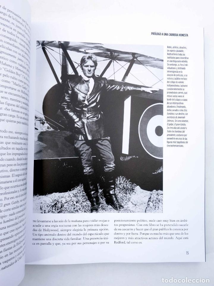Libros de segunda mano: ROBERT REDFORD, EL CHICO DE ORO (Luís Miguel Carmona) T&B, 2009. OFRT - Foto 5 - 237251880