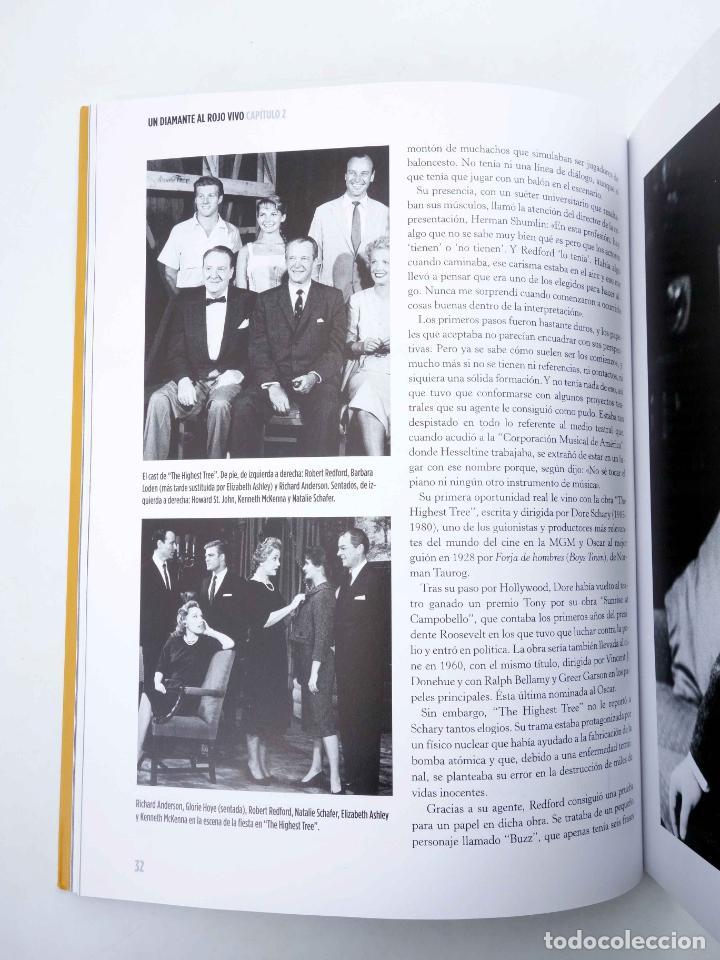 Libros de segunda mano: ROBERT REDFORD, EL CHICO DE ORO (Luís Miguel Carmona) T&B, 2009. OFRT - Foto 6 - 237251880