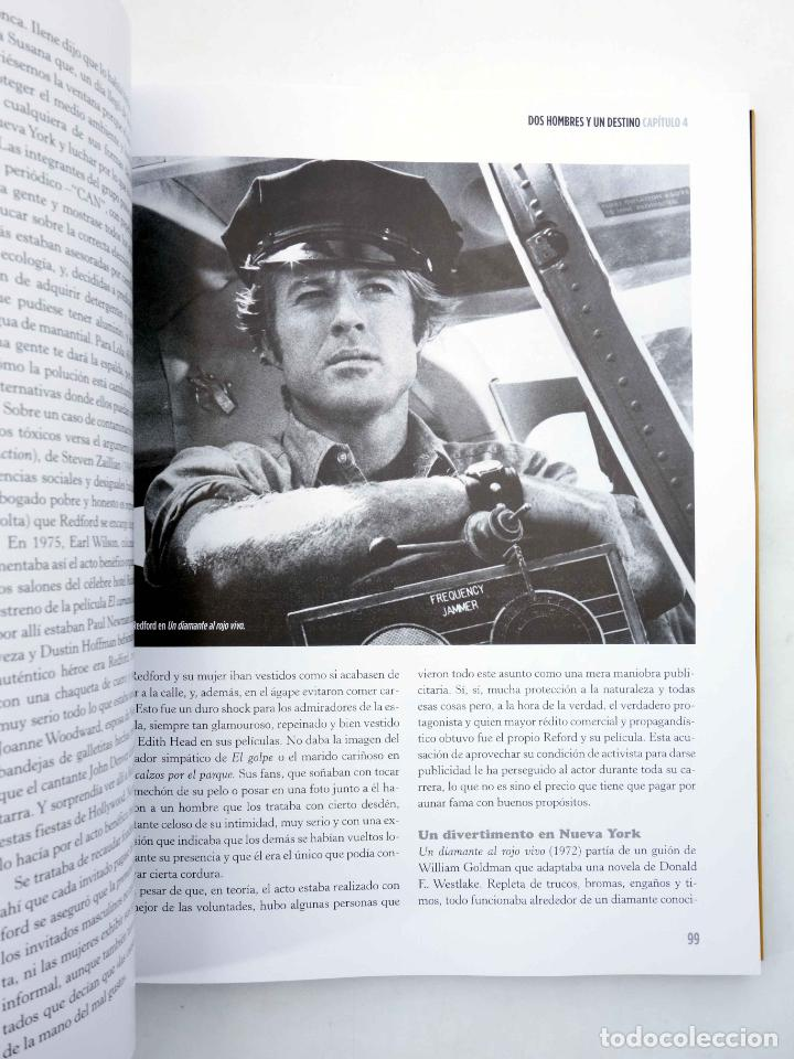 Libros de segunda mano: ROBERT REDFORD, EL CHICO DE ORO (Luís Miguel Carmona) T&B, 2009. OFRT - Foto 8 - 237251880