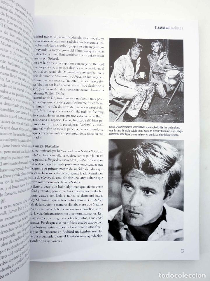 Libros de segunda mano: ROBERT REDFORD, EL CHICO DE ORO (Luís Miguel Carmona) T&B, 2009. OFRT - Foto 10 - 237251880