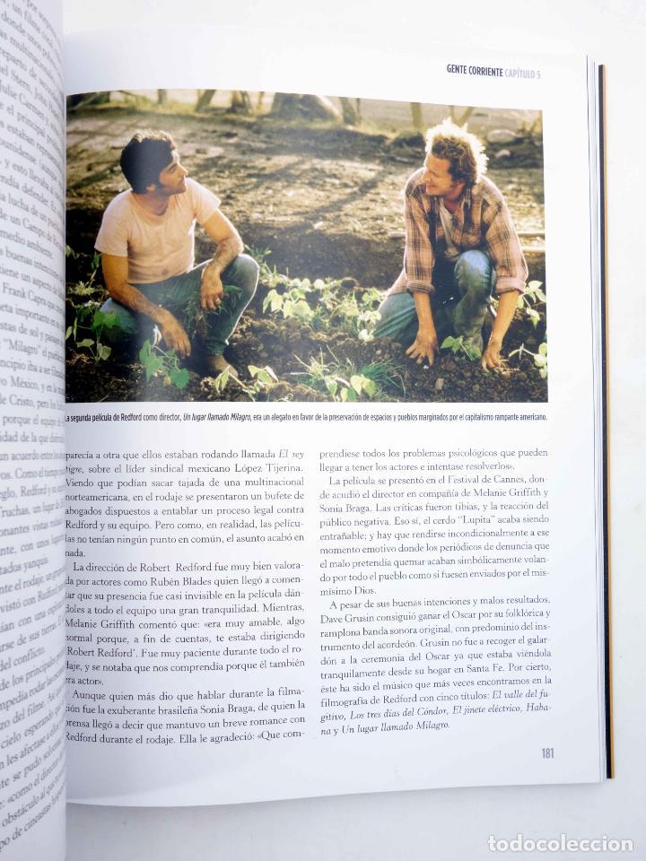 Libros de segunda mano: ROBERT REDFORD, EL CHICO DE ORO (Luís Miguel Carmona) T&B, 2009. OFRT - Foto 11 - 237251880