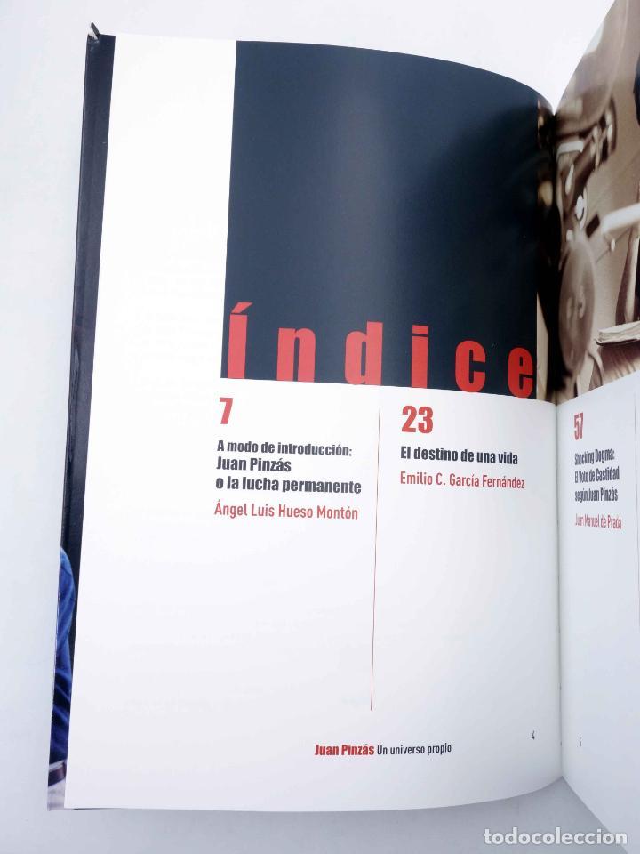 Libros de segunda mano: JUAN PINZÁS. UN UNIVERSO PROPIO (Vvaa) T&B, 2008. OFRT - Foto 5 - 237251885