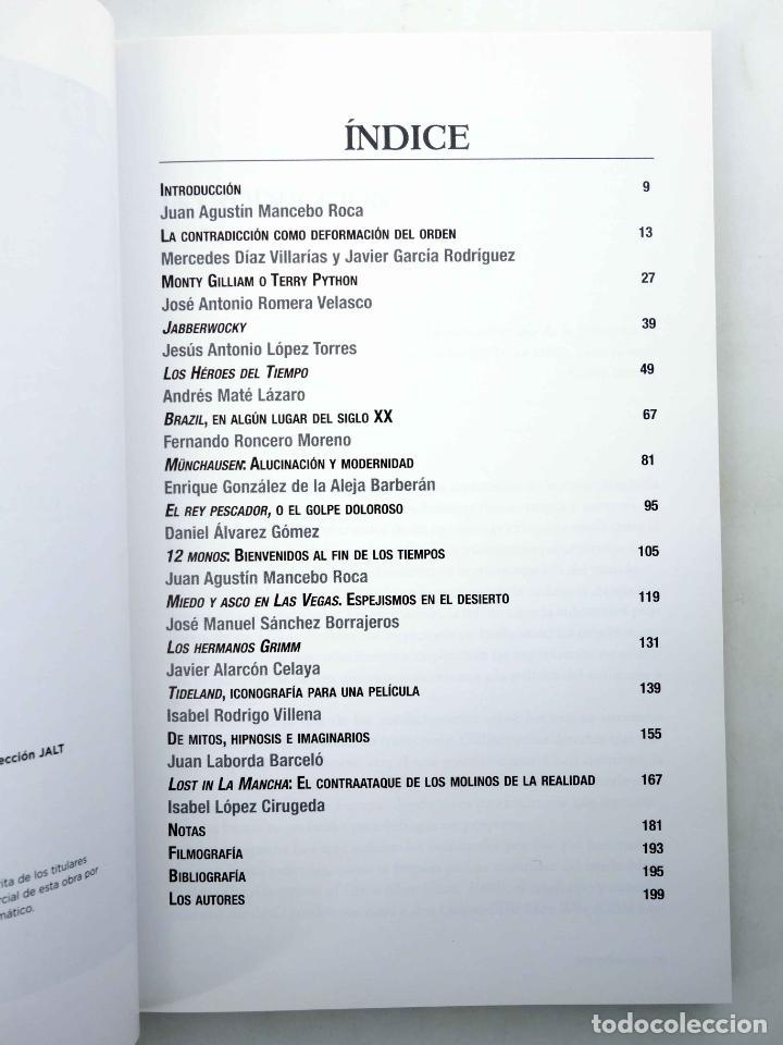 Libros de segunda mano: TERRY GILLIAM, EL DESAFÍO DE LA IMAGINACIÓN (Juan Agustín Mancebo Roca, Ed.) T&B, 2010. OFRT - Foto 4 - 237251915