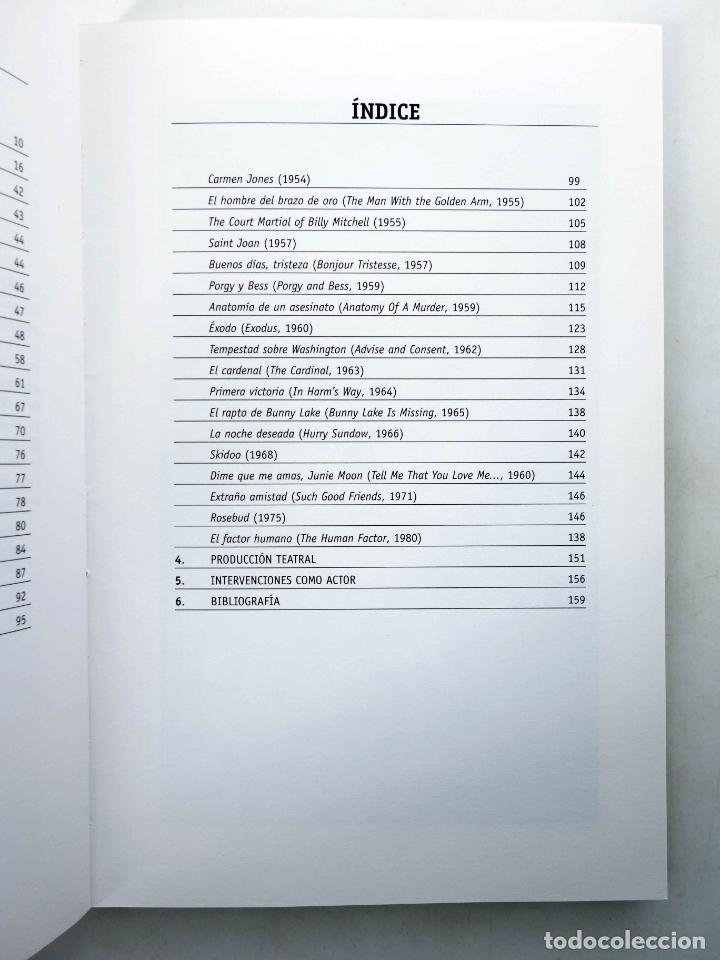 Libros de segunda mano: COLECCIÓN LO ESENCIAL DE… OTTO PREMINGER (José De Diego Wallace) T&B, 2003. OFRT antes 10E - Foto 5 - 237251925