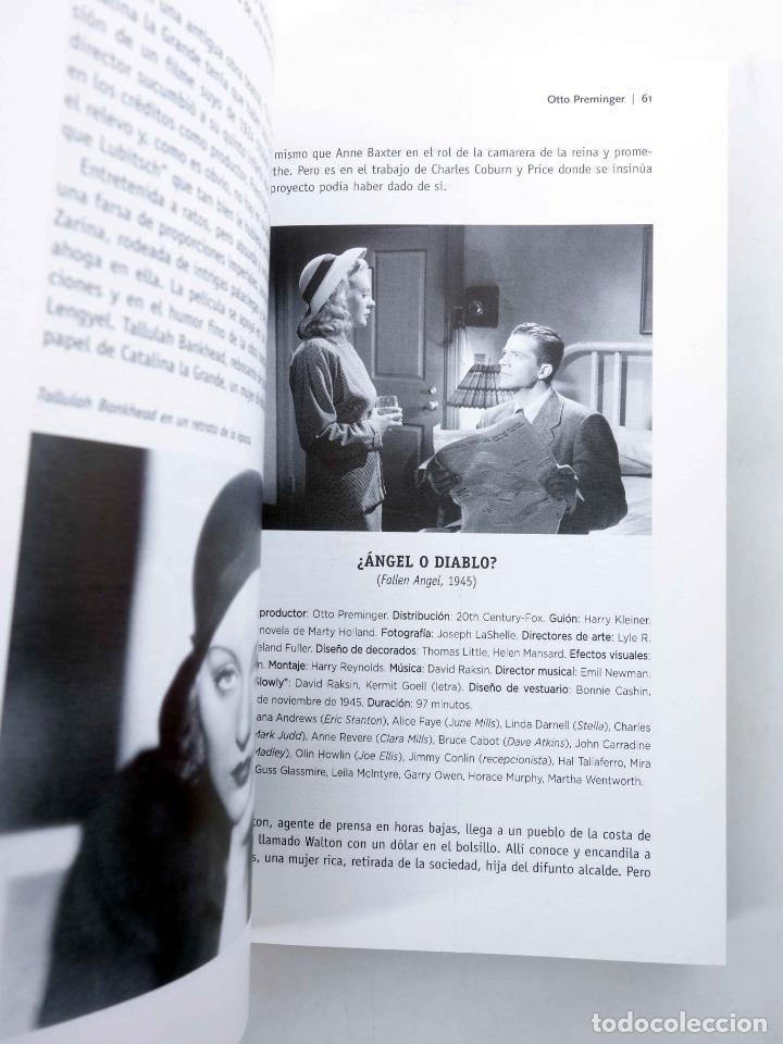 Libros de segunda mano: COLECCIÓN LO ESENCIAL DE… OTTO PREMINGER (José De Diego Wallace) T&B, 2003. OFRT antes 10E - Foto 8 - 237251925