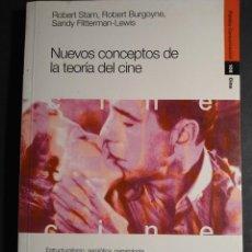 Libros de segunda mano: NUEVOS CONCEPTOS DE LA TEORÍA DEL CINE. ESTRUCTURALISMO, SEMIOTICA, NARRATOLOGÍA, PSICOANALISIS. Lote 237906110