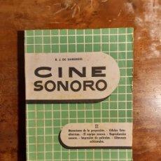 Libros de segunda mano: CINE SONORO R. J. DE DARKESS. Lote 238511245