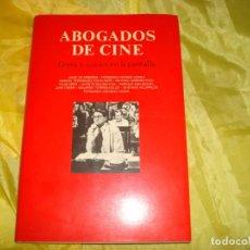 Libros de segunda mano: ABOGADOS DE CINE. LEYES Y JUICIOS EN LA PANTALLA. EDT. CASTALIA, 1ª EDC. 1996. Lote 239458245