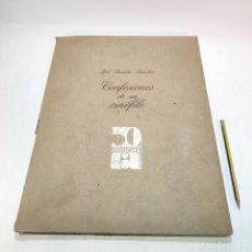 Libros de segunda mano: CONFESIONES DE UN CINÉFILO. JOSÉ RAMÓN SÁNCHEZ. 50 ANIVERSARIO CINEARTE. MADRID. 1985.. Lote 239466545