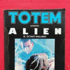 Libros de segunda mano: ALIEN, EL OCTAVO PASAJERO - 1979 - TOTEM, EXTRA CINE~1 - ED. NUEVA FRONTERA. Lote 241216760