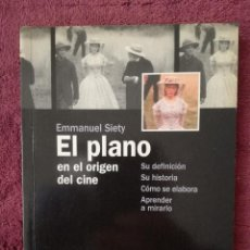 Livros em segunda mão: EL PLANO EN EL ORIGEN DEL CINE - DEFINICION HISTORIA COMO SE ELABORA (PAIDOS CAHIERS DU CINEMA). Lote 241633260